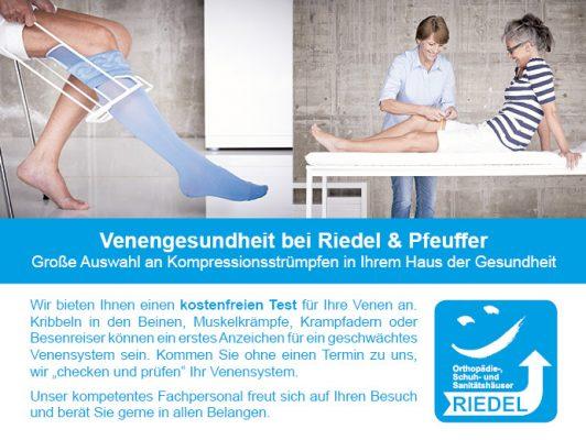 Venengesundheit bei Riedel & Pfeuffer