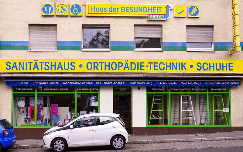 Sanitätshaus - Brückenstraße 6
