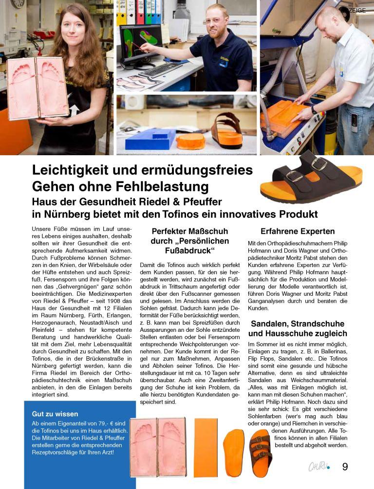 CHURU Magazin - Tofino Partnergeschichte Artikel