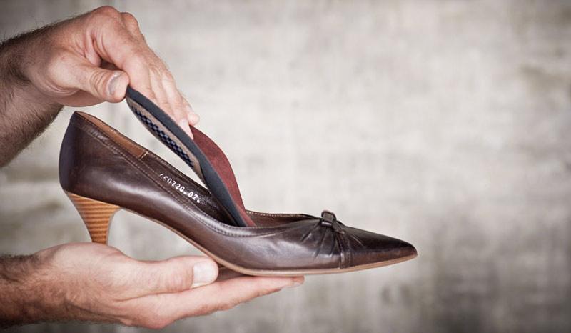 Einlage Schuhe