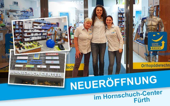Sanitätshaus Eröffnung Gabelsbergerstraße 1, Hornschuch-Center, 90762 Fürth