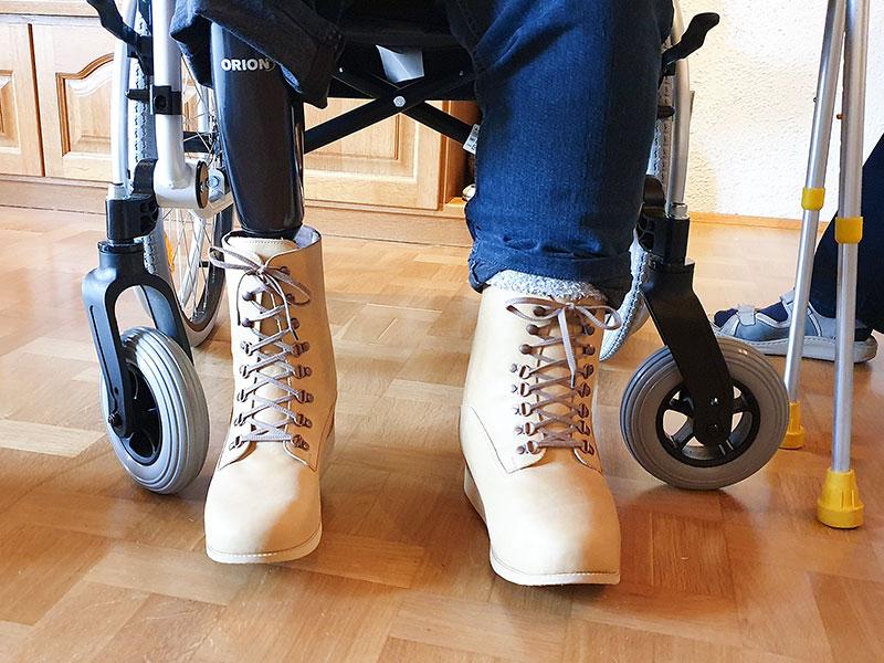 Erfahrungsbericht: Fuß- und Beinorthese #2