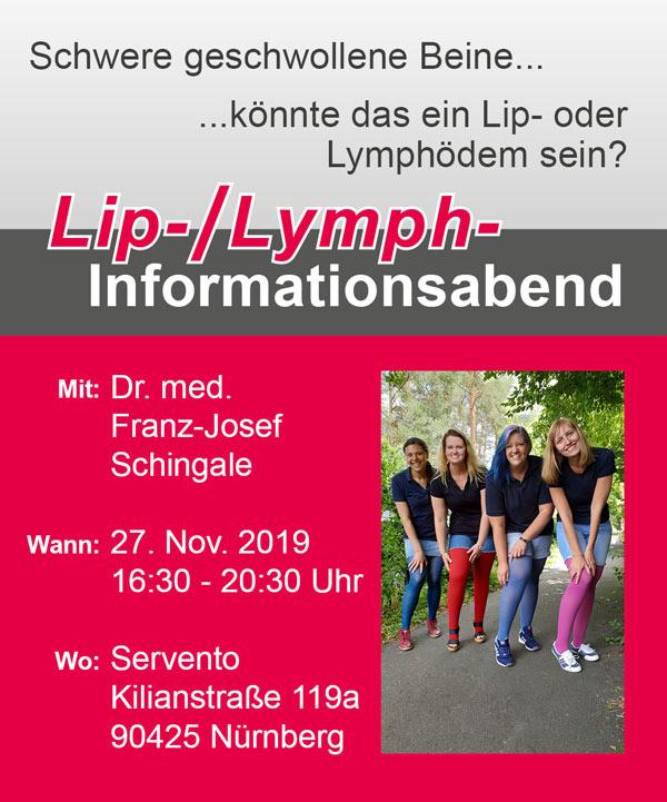 Lip-/Lymph-Informationsabend