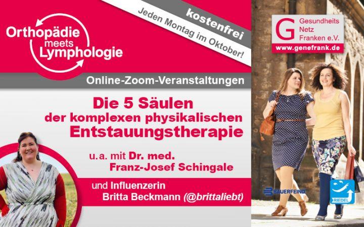 Orthopädie meets Lymphologie - Entstauungstherapie News
