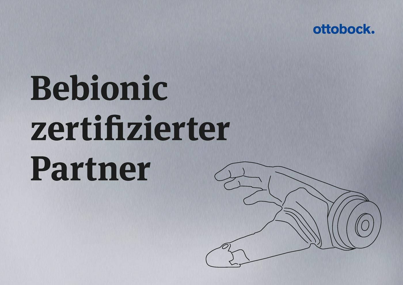 Zertifikat Ottobock Bebionic