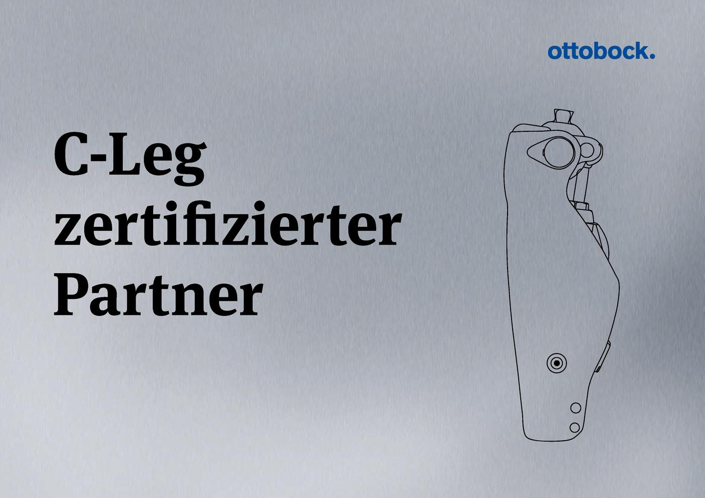 Zertifikat Ottobock C-Leg