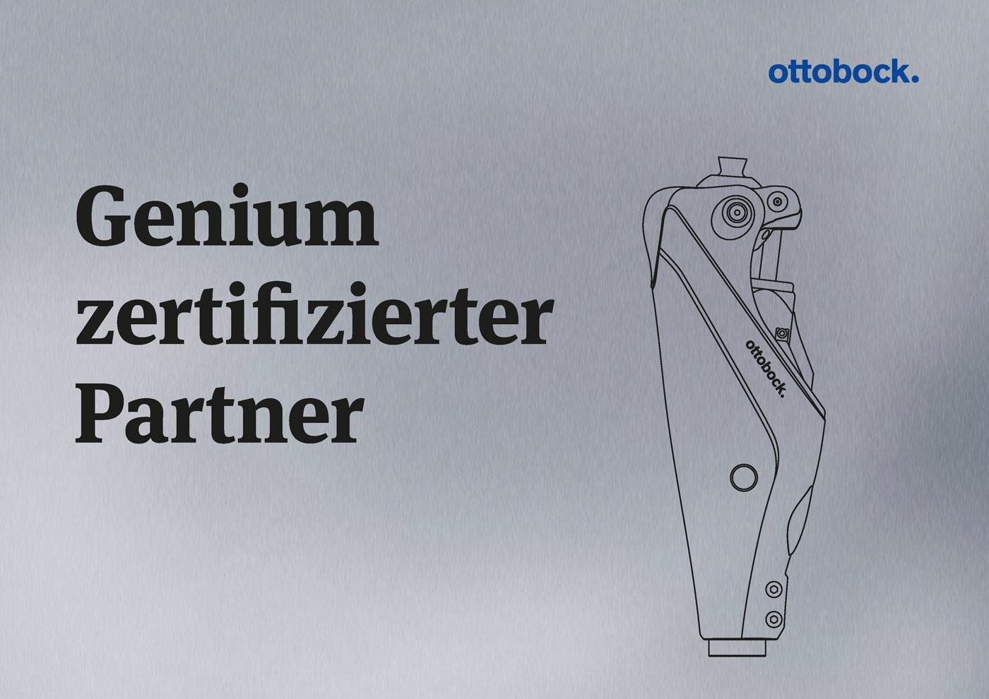 Zertifikat Ottobock Genium