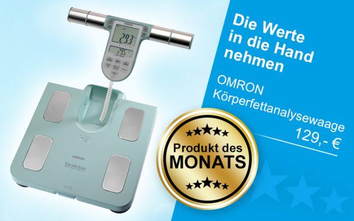 Produkt des Monats Januar 2019 - OMRON Körperfettanalysewaage