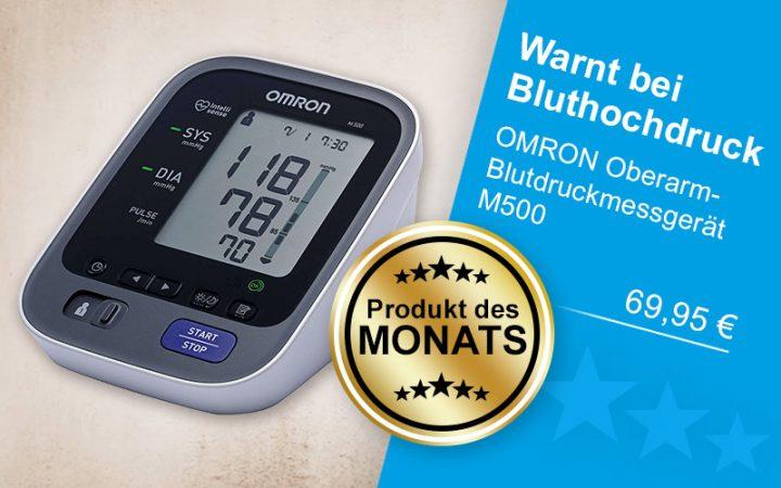 Produkt des Monats OMRON M500