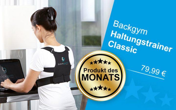 Produkt des Monats Backgym Haltungstrainer Classic