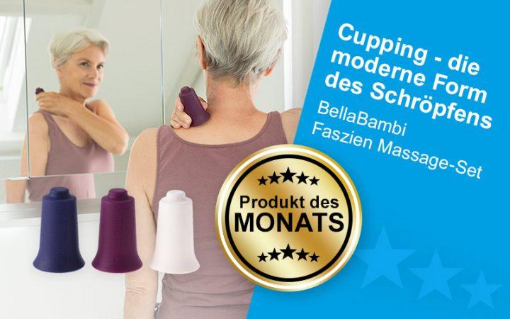 Produkt des Monats Februar 2021 - BellaBambi Faszien Massage-Set