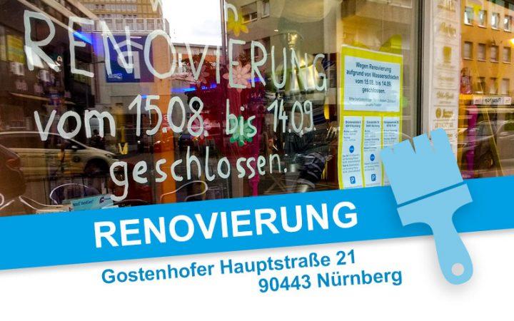 Renovierung - Gostenhofer Hauptstraße 21