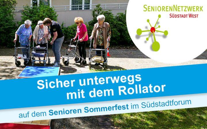 Rollatortage 2019 Senioren Sommerfest