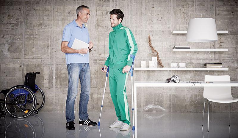 Rollstuhl Beratung