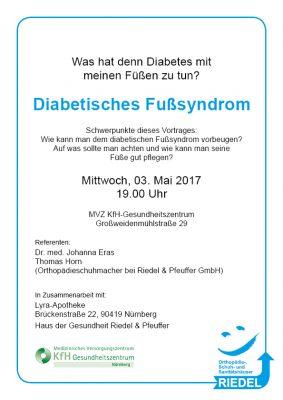 Vortrag Diabetisches Fußsyndrom