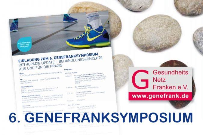 Genefranksymposium 2018