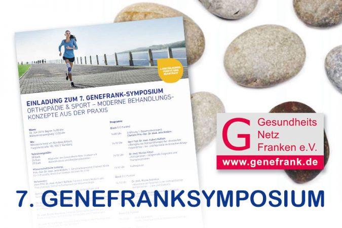Genefranksymposium 2019