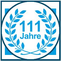 111-jähriges Jubiläum