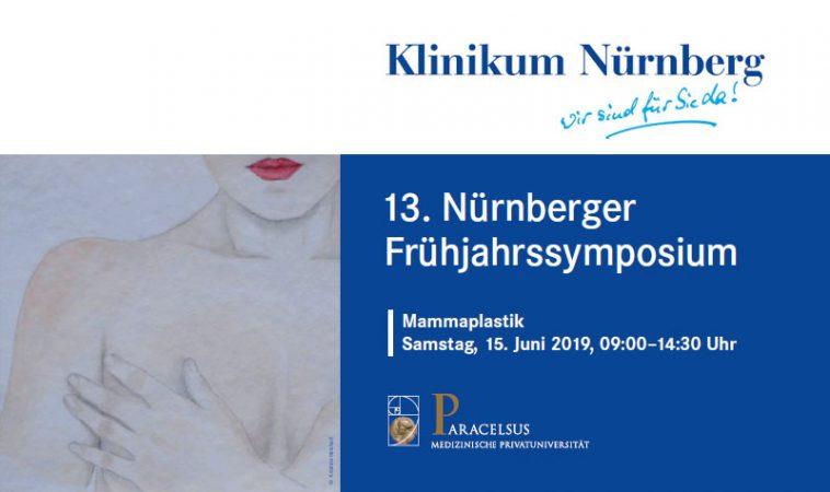 13. Nürnberger Frühjahrssymposium