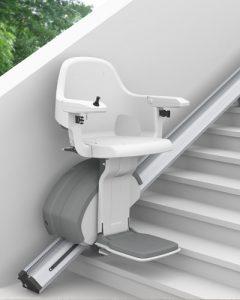 Treppenlift gerade außen